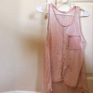 Ripcurl pink tank top